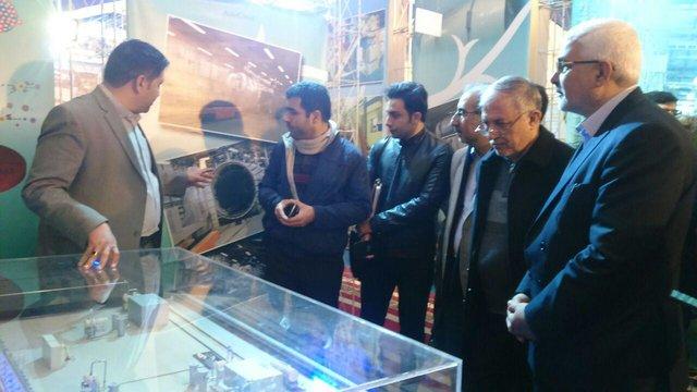 افتتاح المعرض التخصصي الـ37 لمنجزات الصناعة النووية الايرانية