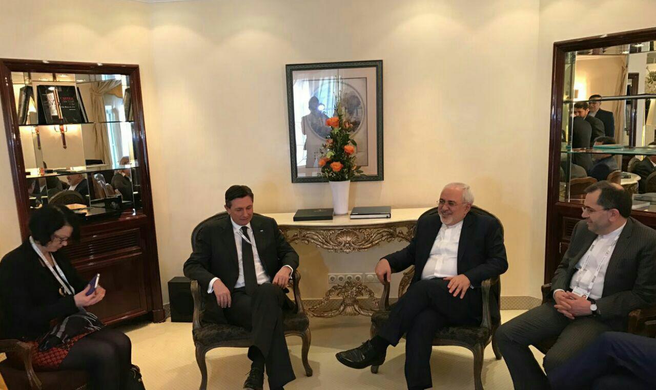 وزير الخارجية يلتقي الرئيس السلوفيني في ميونخ