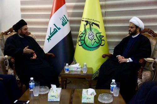 الشيخ الكعبي والسيد الحكيم يشيدان بالتقدم السريع للقوات الامنية والحشد الشعبي في الموصل