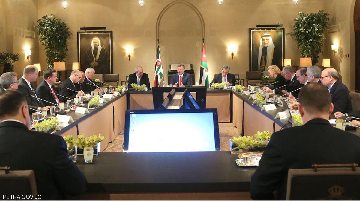 العاهل الأردني: حل الدولتين هو السبيل الوحيد لإحلال السلام