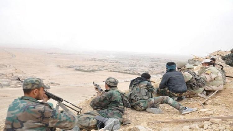 الجيش السوري يتقدم من مثلث تدمر