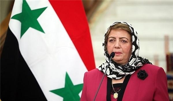 هدية عباس: سوريا كانت ولا تزال داعماً أساسياً لنضال الشعب الفلسطيني ولحقوقه المشروعة