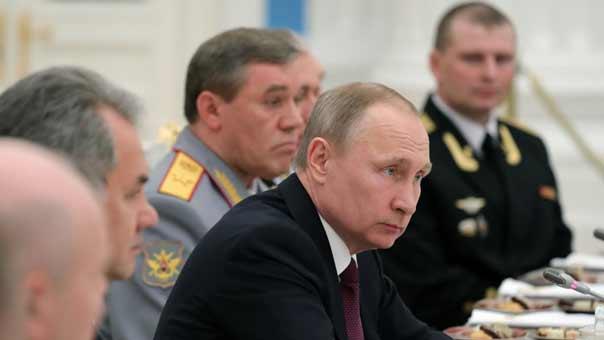 بوتين: هدف موسكو في سوريا محاربة الإرهاب والحفاظ على وحدتها