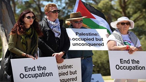 مظاهرات في أستراليا رفضاً لزيارة نتنياهو