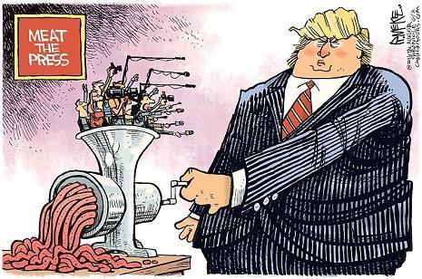 ترامب vs الإعلام.... «الحرب» مستمرّة!