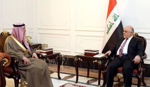 الجبير يبلغ العبادي بتسمية سفير جديد للسعودية في بغداد