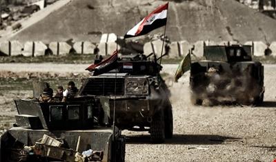 القوات العراقية تعلن تحرير حي الطيران غربي الموصل