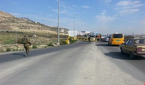 الاحتلال يطلق النار على مسنّ قرب حاجز حوارة بالضفة الغربية