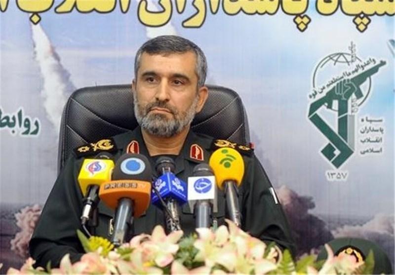العميد حاجي زادة: اذا ارتكب الأعداء أي خطأ ستسقط صواريخنا على رؤوسهم