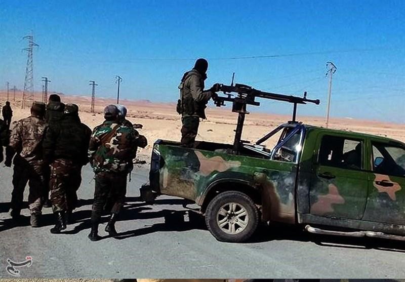 الجيش السوري يتقدم شرق حمص وتعزيزات ضخمة إلى مطار السين بريف دمشق+صور