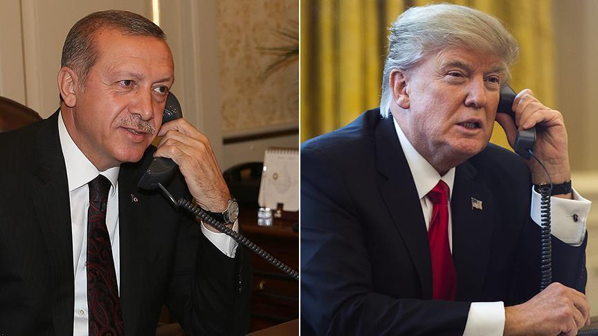 أردوغان وترامب متّفقان على مواصلة بلديهما الحرب ضد الإرهاب