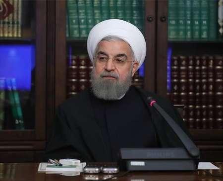 الرئيس روحاني: الاستقلال والسيادة الوطنية من المنجزات الكبري للثورة الاسلامية