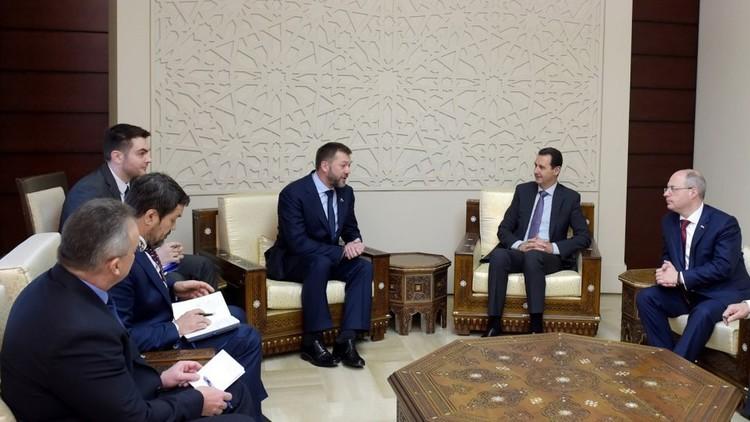 الأسد: الأوضاع في سوريا تسير في المنحى الذي نرغب