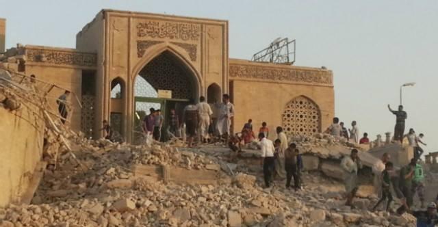 العثور على قصر لملك آشوري يضم كنوزاً وآثاراً أسفل موقع النبي يونس في الموصل