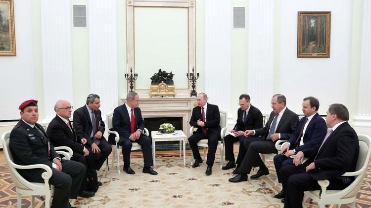 نتنياهو يتهم إيران بمحاولة إقامة قاعدة بحرية في سوريا
