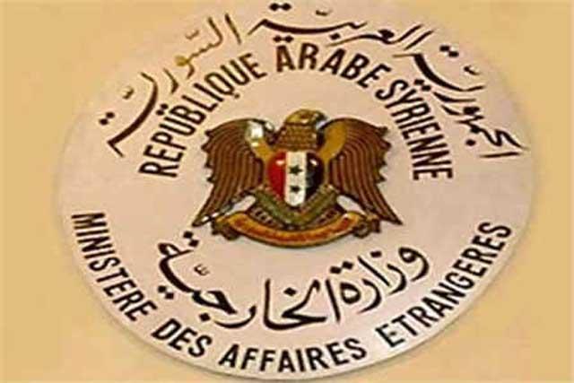 دمشق تطالب الأمم المتحدة بإلزام تركيا بسحب قوّاتها من سوريا