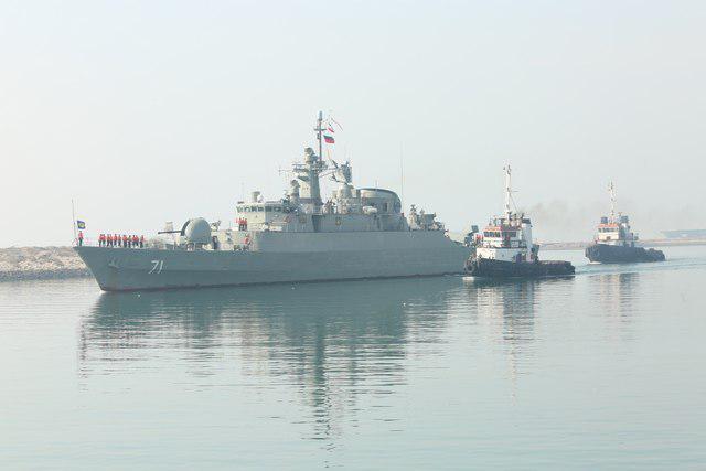 مجموعة السفن الحربية الـ 44 للجيش الايراني تعود الى البلاد