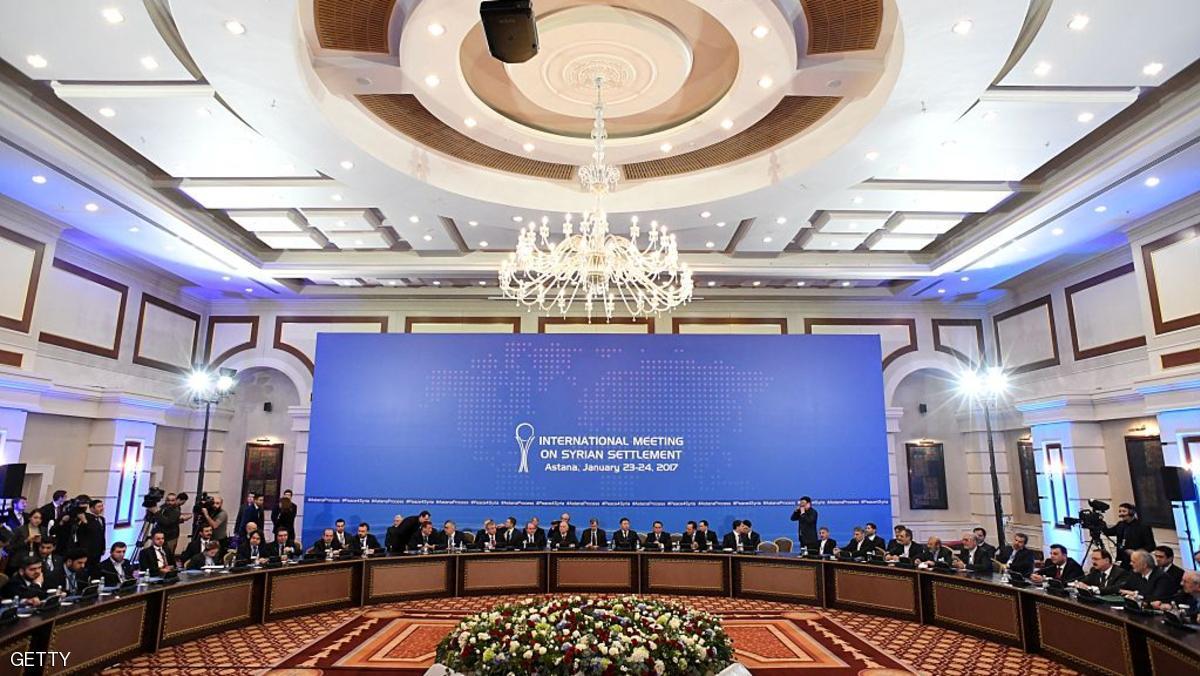 روسيا وتركيا وإيران تمضي قدما في