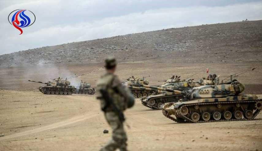الجيش التركي يحتل أراضي قرية