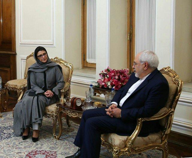 ظريف: ايران مستعدة للتعاون مع صندوق الامم المتحدة للسكان