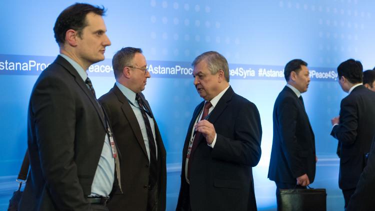 انطلاق جولة مفاوضات جديدة بخصوص سوريا في أستانا