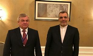 الوفد الايراني يتباحث مع نظيره الروسي في استانا حول التطورات في سوريا