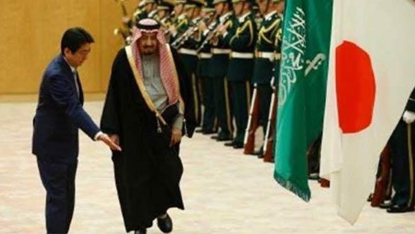 ناشطون يسخرون..'زهايمر' سلمان يحرج رئيس وزراء اليابان