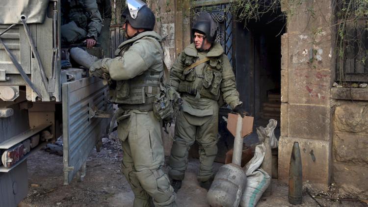 وصول وحدة عسكرية روسية لإزالة الألغام إلى تدمر