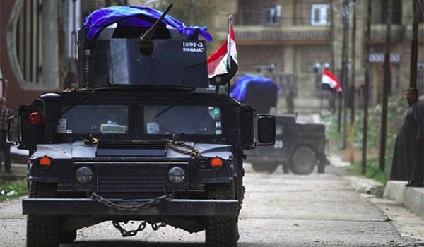 الشرطة الاتحادية العراقية تحرر مستشفى نينوى الأهلي