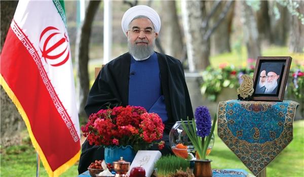 روحاني: حققنا انجازاتنا الاقتصادية لامثيل لها خلال 25 عاما