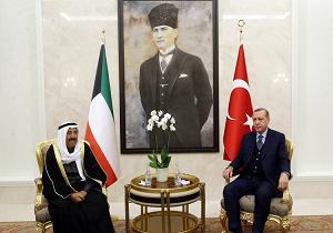 أمير الكويت يزور تركيا