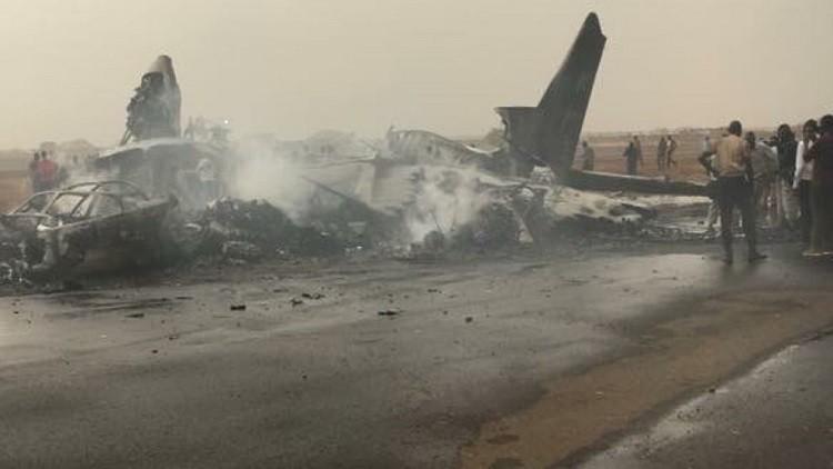 جرحى جراء تحطم طائرة ركاب في جنوب السودان