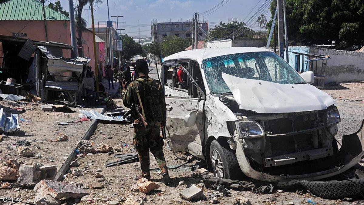 انفجار سيارة ملغومة قرب القصر الرئاسي بمقديشو