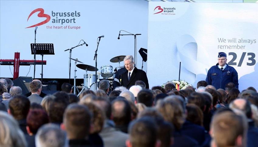 بلجيكا تحيي الذكرى الأولى لهجمات مطار بروكسل