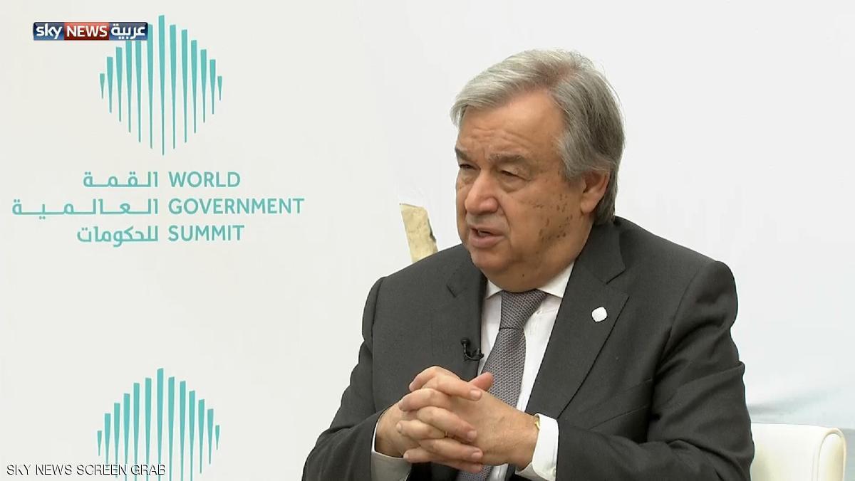 الأمين العام للأمم المتحدة يشارك في القمة العربية بعمان