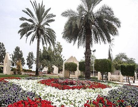 قدوم الربيع في جزيرة كيش الايرانية