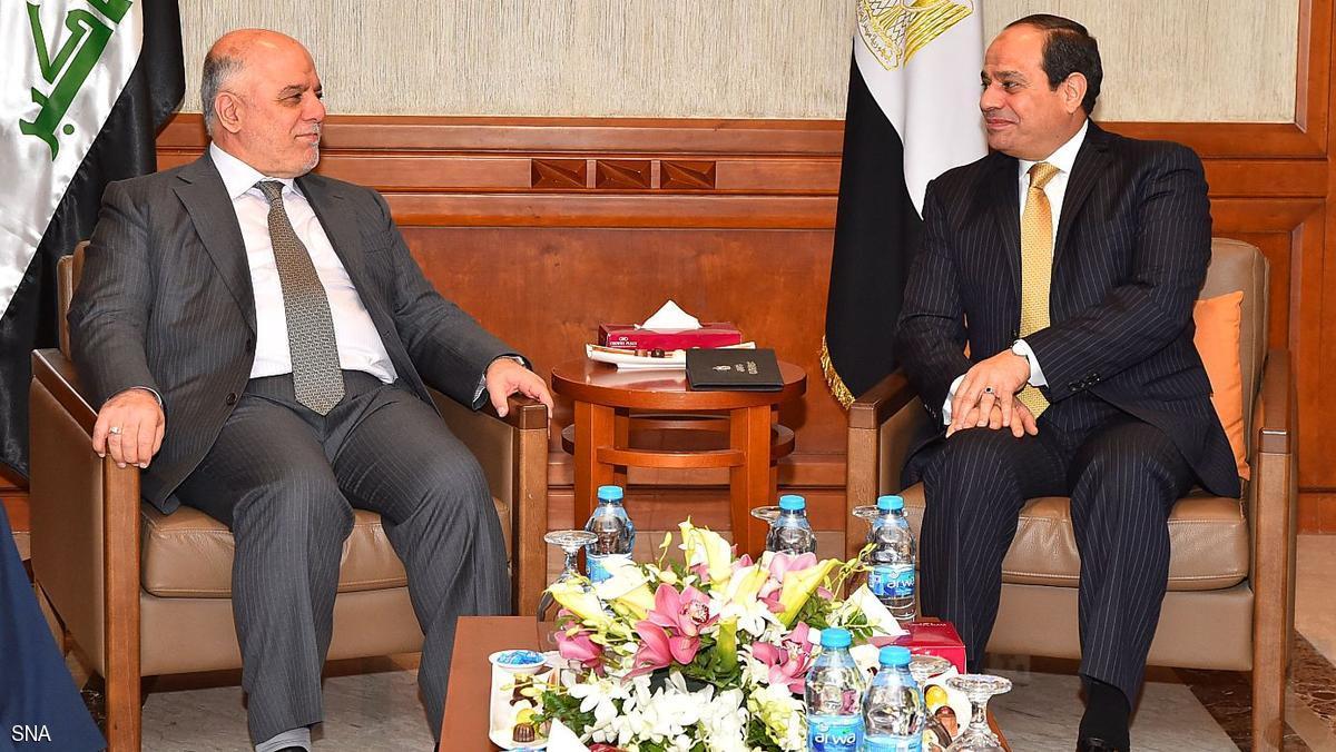 السيسي يؤكد دعم مصر لوحدة واستقرار العراق