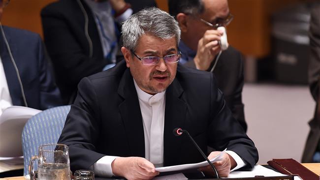 مندوب ايران بالامم المتحدة يؤكد ضرورة ابرام وثيقة دولية لحظر انتاج الاسلحة النووية