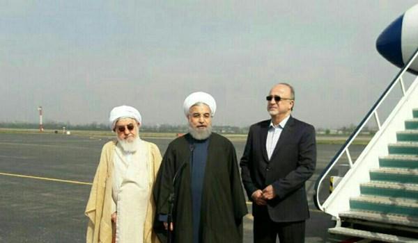 روحاني : افتتاح عدة مشاريع عمرانية توفر فرص عمل للشباب