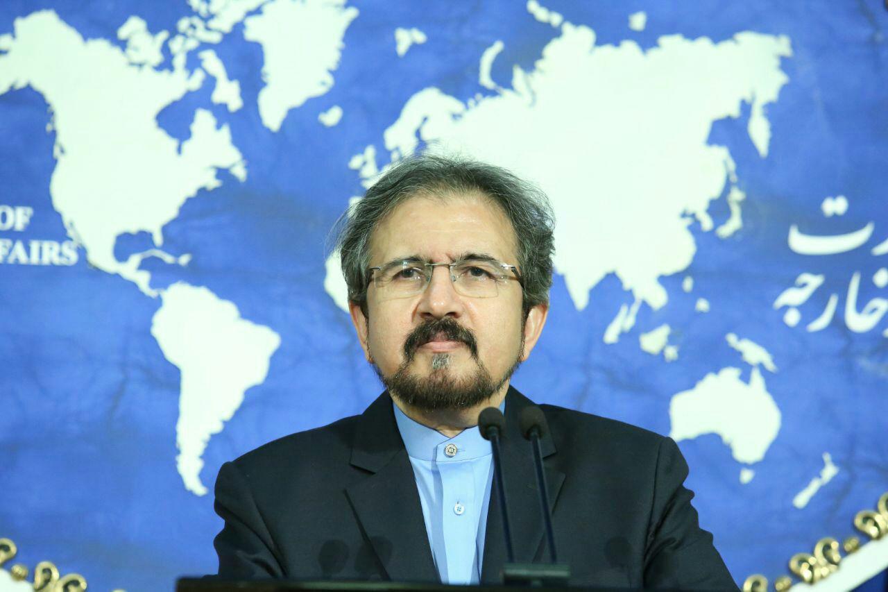قاسمی: ایران تعتمد سیاسة احترام حق السیادة وعدم التدخل فی شؤون الدول الاخري