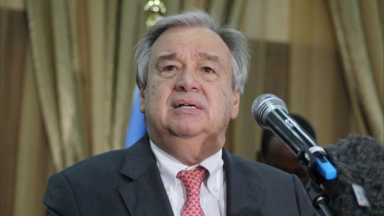 الأمين العام للأمم المتحدة في بغداد
