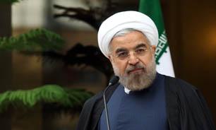 الرئيس الايراني يدشن رصيفين بمجمع ميناء كاسبين