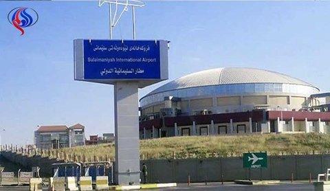انحراف طائرة اردنية عن مسارها اثناء هبوطها في مطار السليمانية