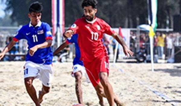 بطولة آسيا للكرة الشاطئية: ايران تمطر ماليزيا بـ 14 هدفا