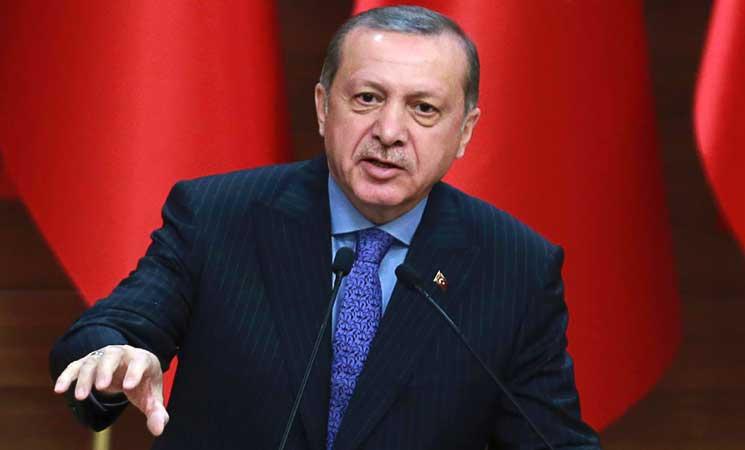 اردوغان يعتبر منع المانيا التجمعات لا يختلف عن الممارسات