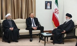 قائد الثورة: الكيان الصهيوني الخبيث يسعى لزعزعة العلاقات الاخوية بين ايران وآذربيجان