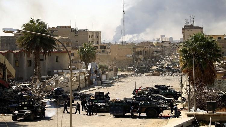 القوات العراقية تسيطر على متحف الموصل وحي المنصور