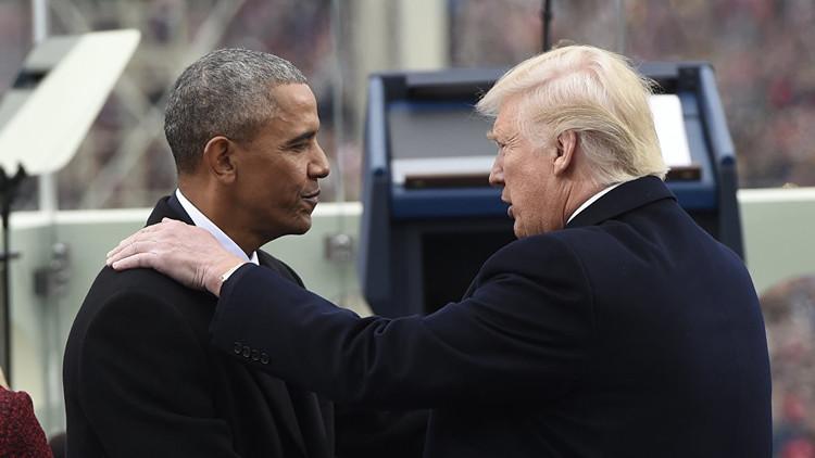 ترامب يصف أوباما بـ
