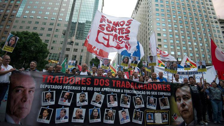 تجدد الاحتجاجات في البرازيل على إجراءات التقشف