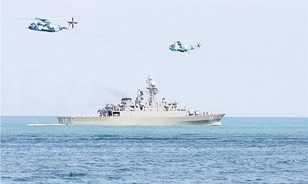 بدء المناورات البحرية المشتركة بين ايران وسلطنة عمان